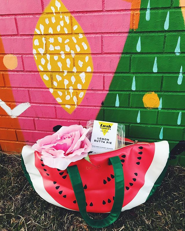 Bring ur cutest cooler bag to @easternmarket this weekend because #lushyummiespieco is BACK.