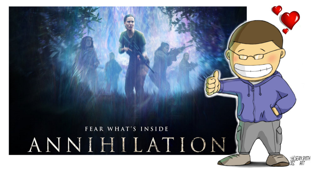 Annihilation Is My Kind Of Sci Fi You Can T Unwatch It