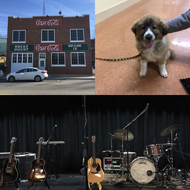 Final show of the tour. Thank you @realaimeemann @realjonathancoulton @paulie_be #jamieedwards #chrisbailey #darrellbussino #bert and venue puppy Bella