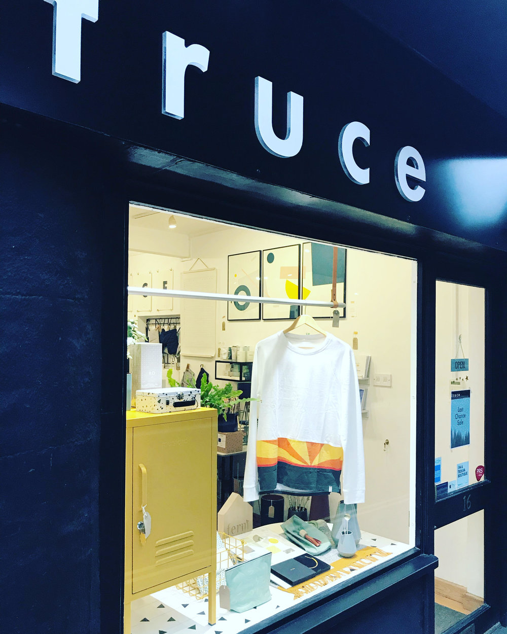 Find my work at Truce - Or shop online -truceonline.co.uk