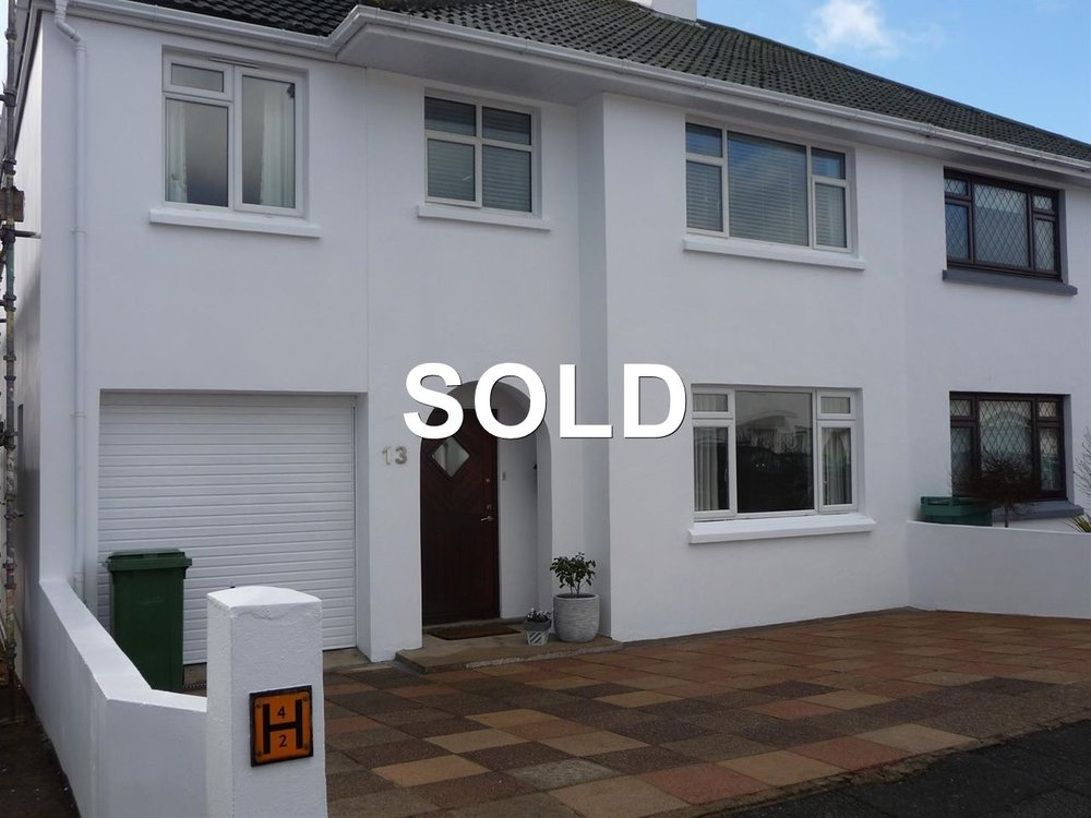 SOLD BY PROPERTY STORE JERSEY - UNDER OFFER IN 24 HOURS - SIMILAR PROPERTIES REQUIRED
