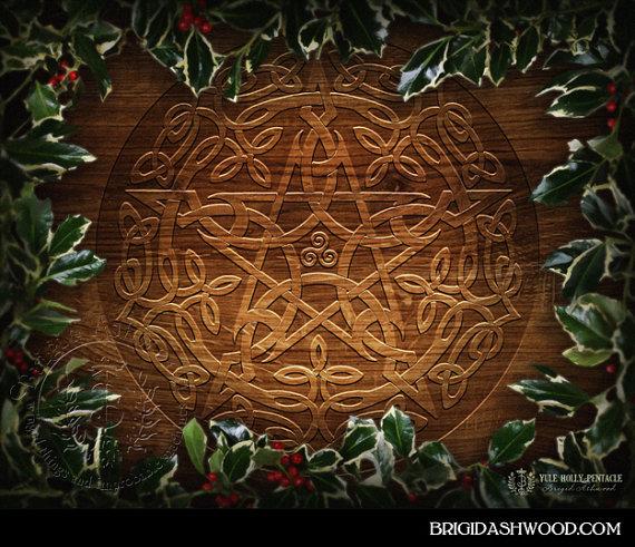 Celtic Yule Pentacle