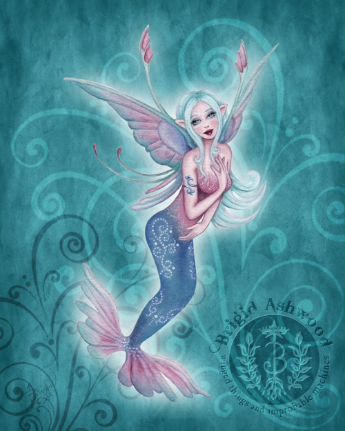 Coral Fairy Sprite
