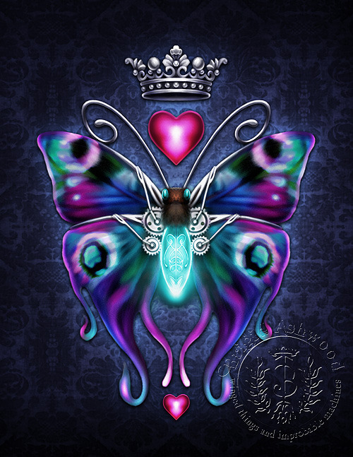 SteamButterfy Steampunk Butterfly