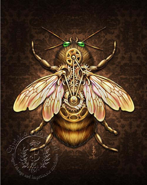 SteamBee Steampunk Bee