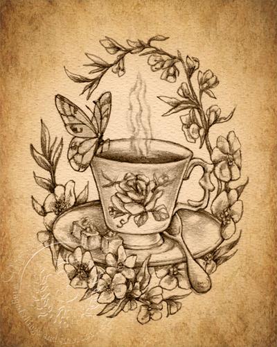 Tea & Company - Sepia