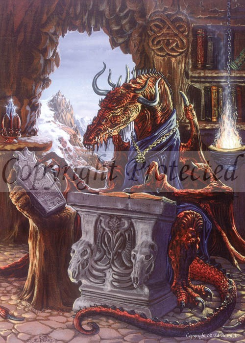 Ancient Dragon Scholar