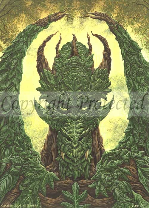 Greenman Dragon