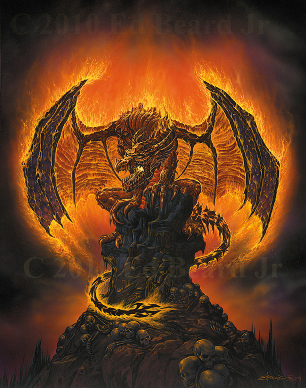 Harbinger of Fire Dragon