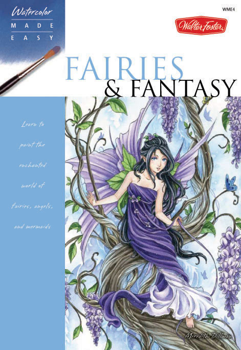 Fairies and Fantasy Watercolor Book