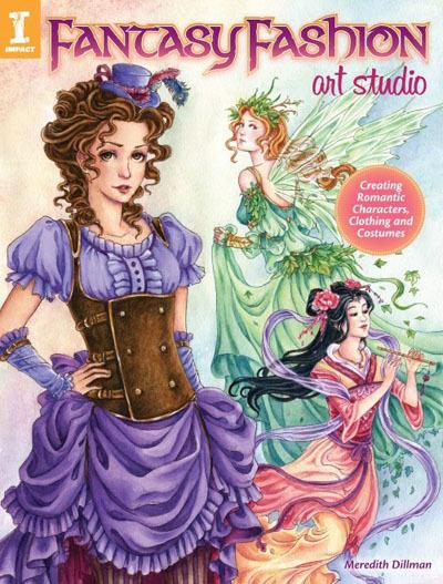 Fantasy Fashion Art Studio Book
