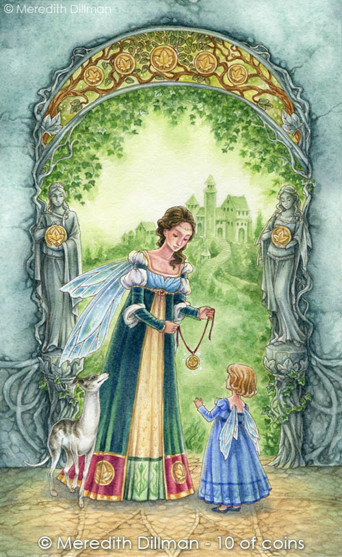 Mother and Daughter Fairy