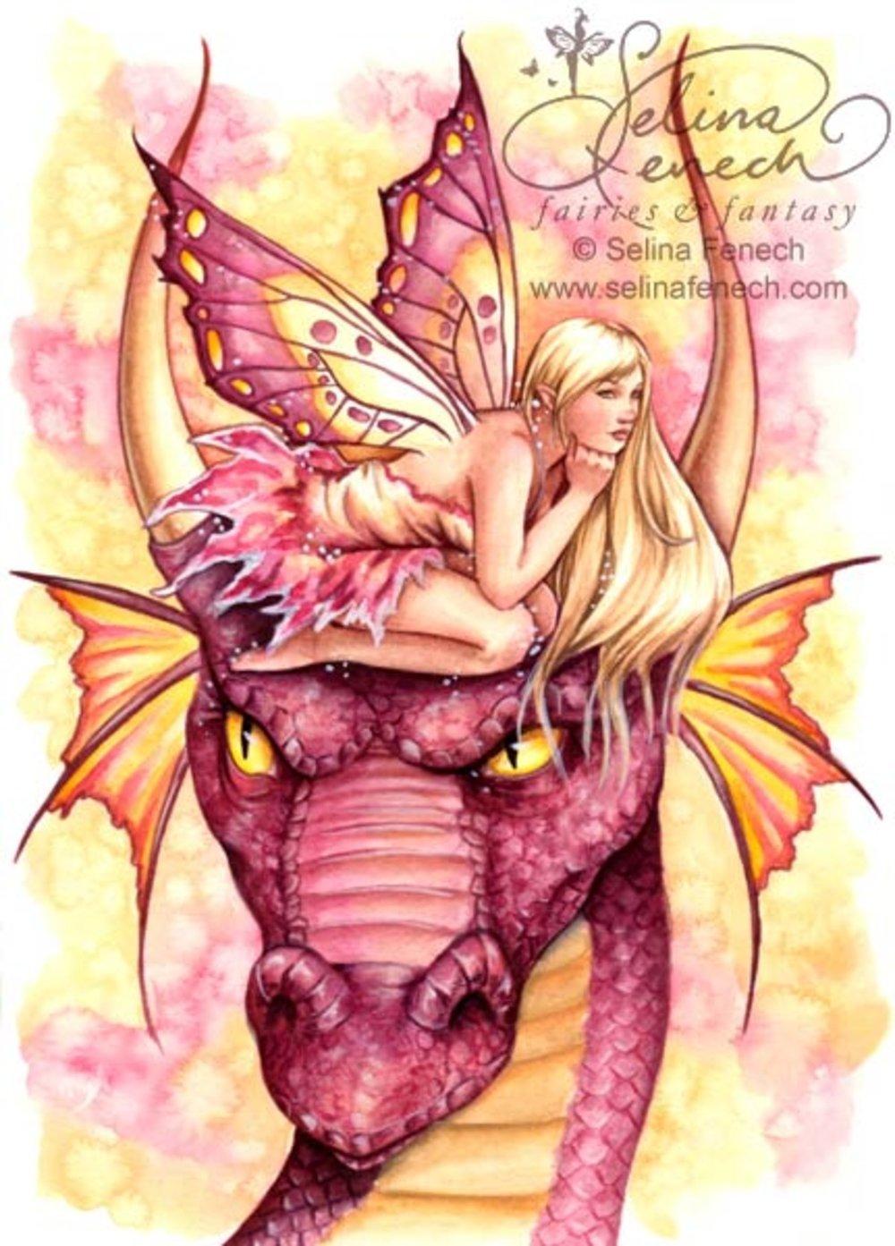 Dragon Fae Pink