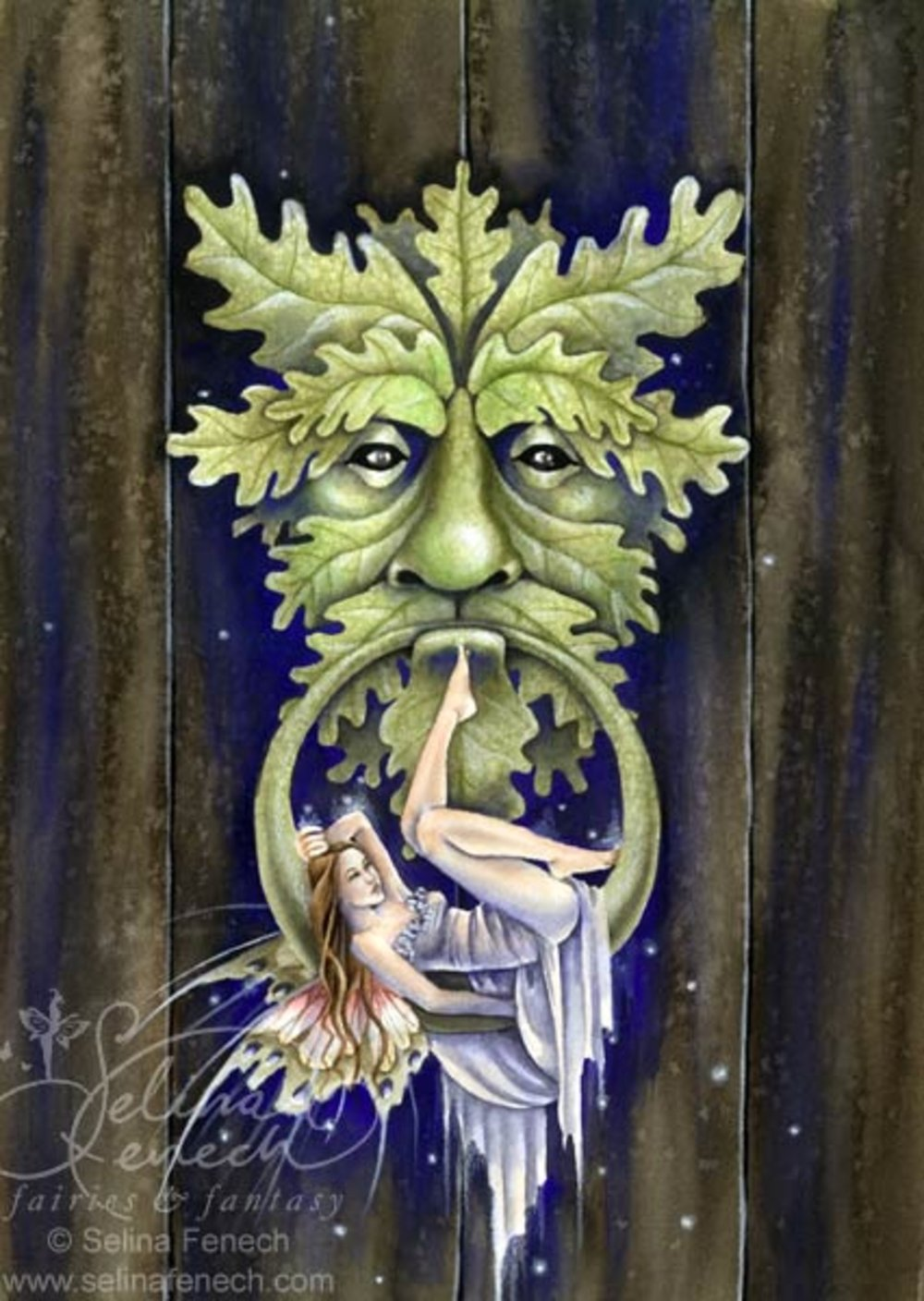 Greenman's Door
