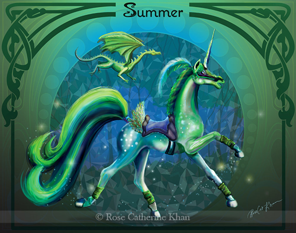 Summer Unicorn