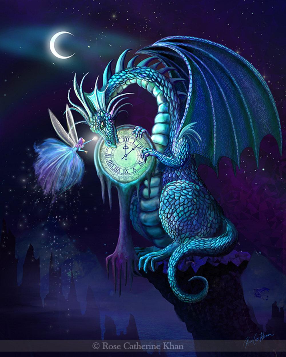 Time Dragon Sapphire