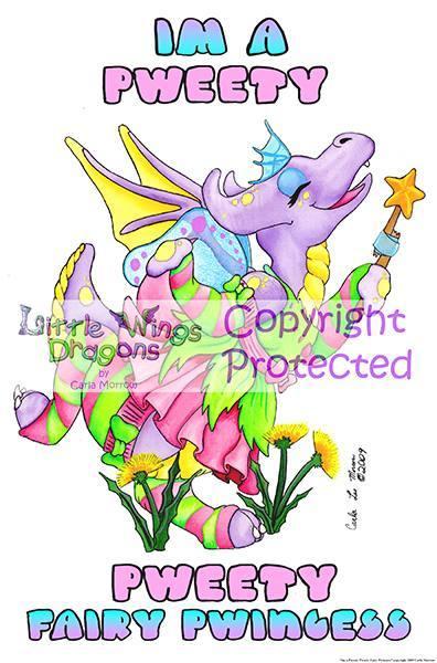 I'm  a Pweet Fairy Pwincess