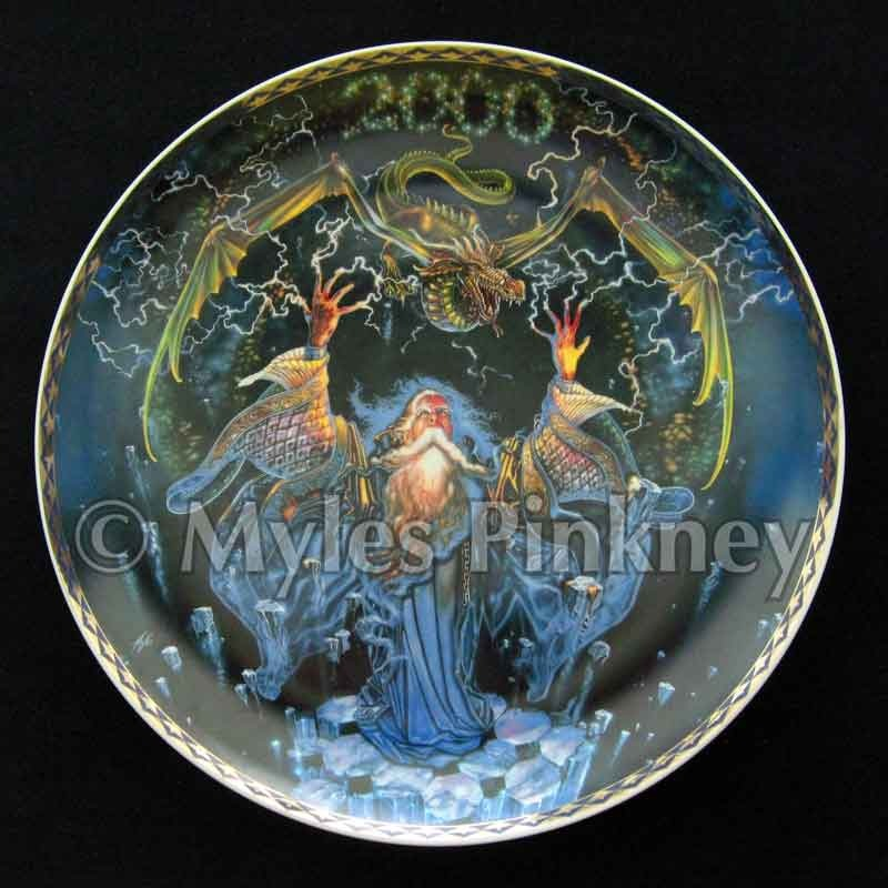 Dragonstorm Plate