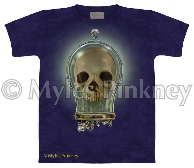 Bell Jar Skull Shirt