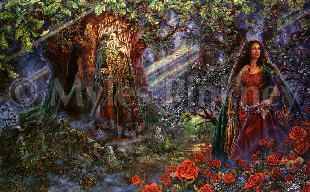 Merlin's Oak