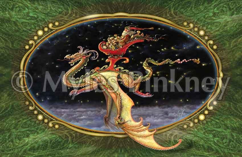 Saint Nicholas Christmas Card