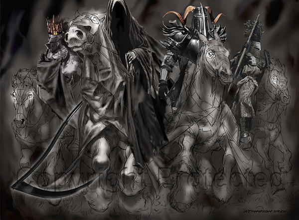 Four Horsemen (Pencil)