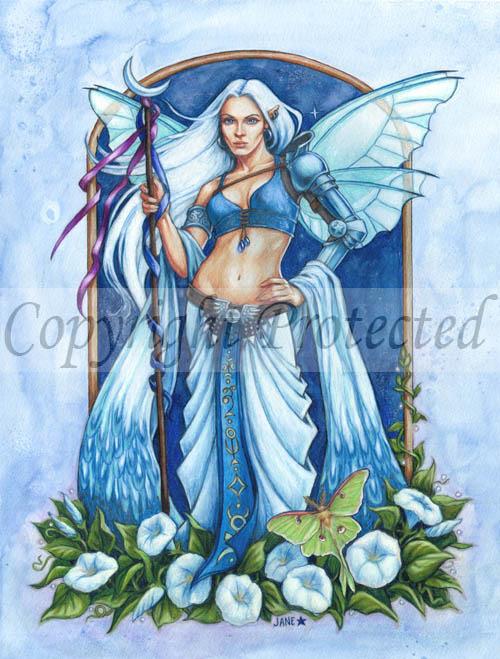 Moon Flower Fairy