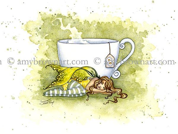 Chamomile Tea Faery
