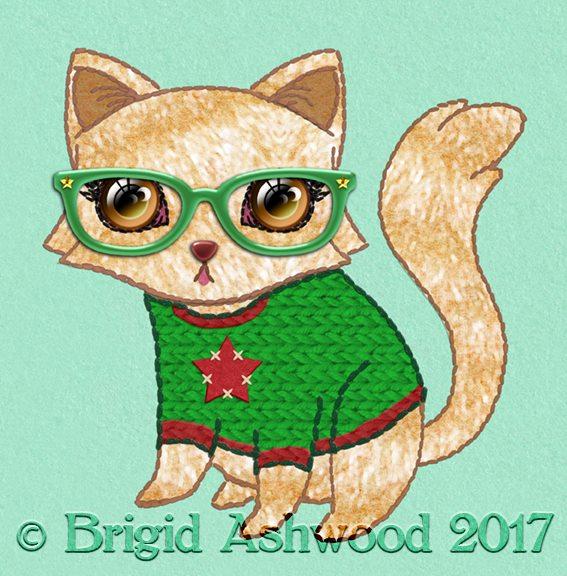 Geek Cat Star