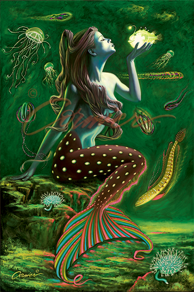Bioluminescent Mermaid 2
