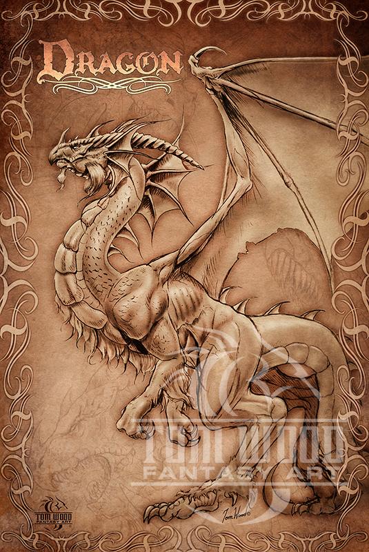 Dragon Parchment