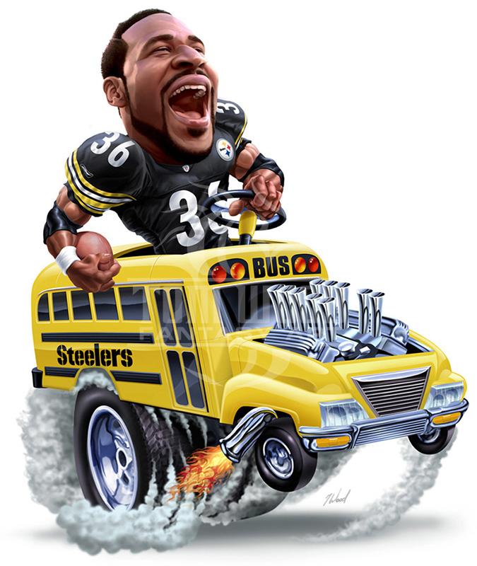 Jerome Bettis The Bus
