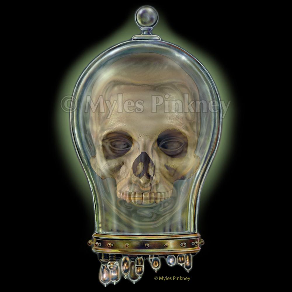 Skull Jar