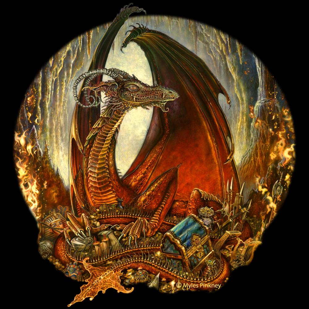 Treasure Dragon Vignette