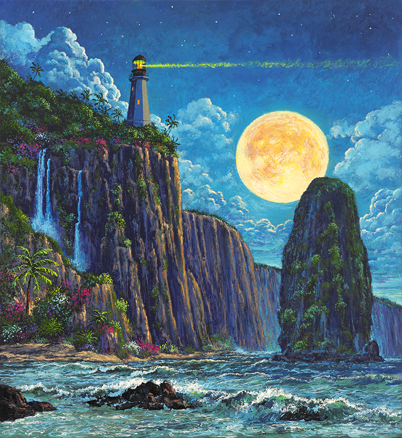 Lighthouse on Moon Bay