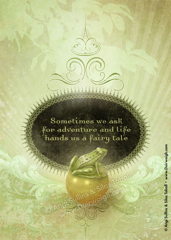 Frog Fairytale Golden Ball