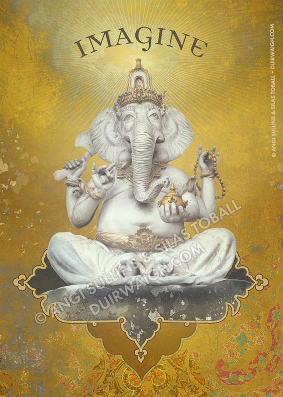 Imagine Ganesha