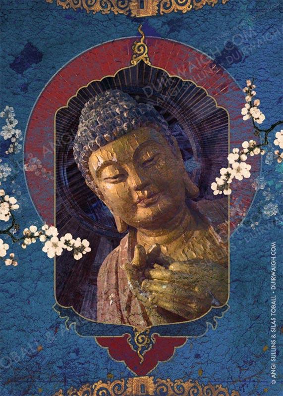 Buddha Blue 2