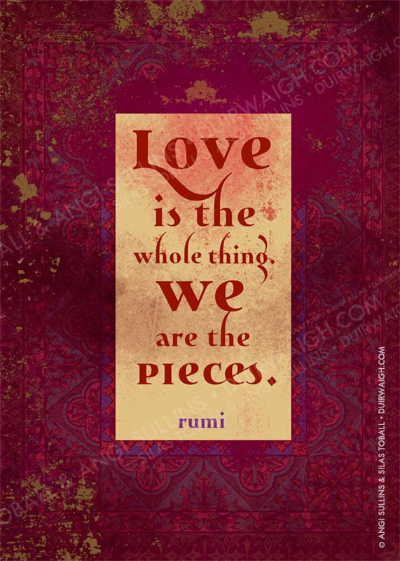 Love is the whole thing