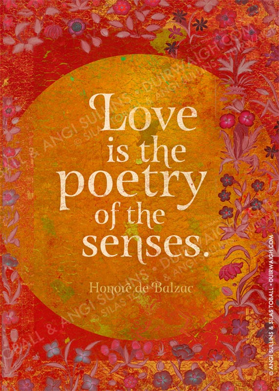 Love is the poetry