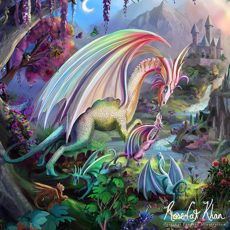 Dragon Paradise Detail
