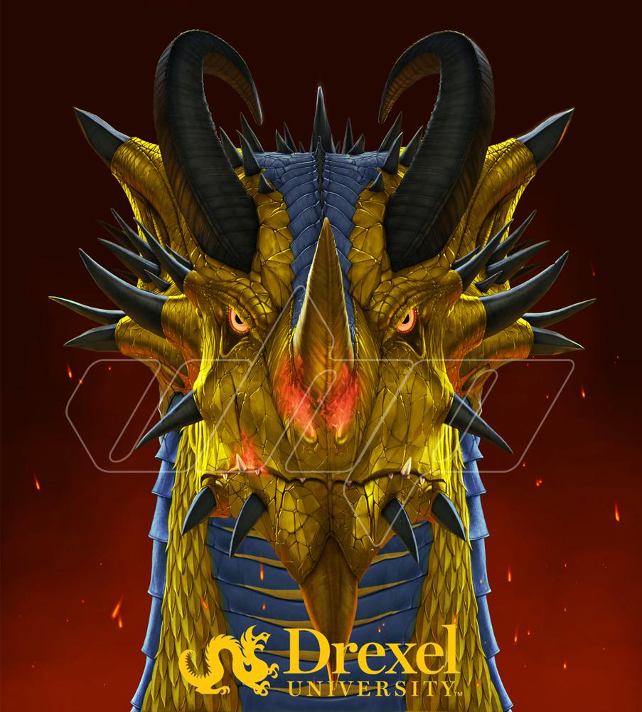 Drexel University dragon mascot.jpg