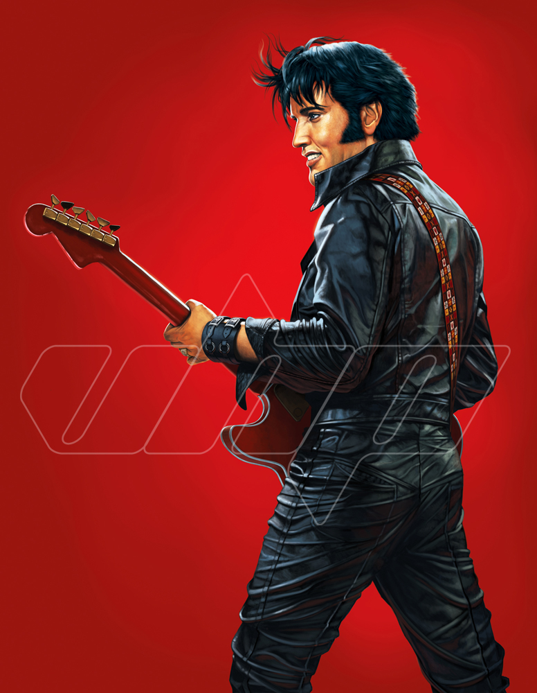 Elvis Comeback red