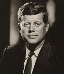 President John F Kennedy Portrait