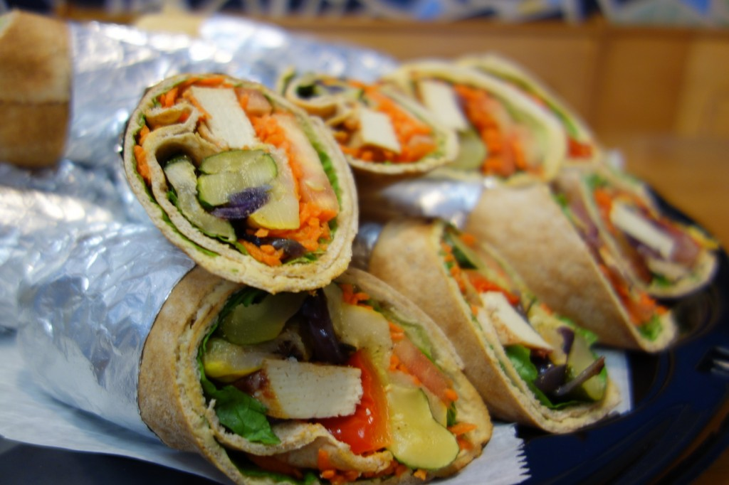 Chicken Wraps from Inna's Kitchen in Newton, MA