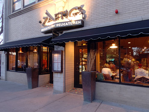 Zaftigs Delicatessen in Brookline, MA