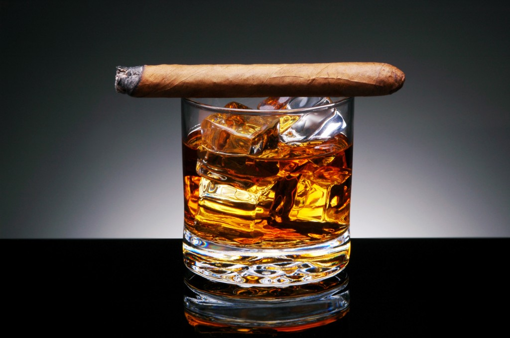 Cigars and Whiskey Can Increase Oral Cancer Risk