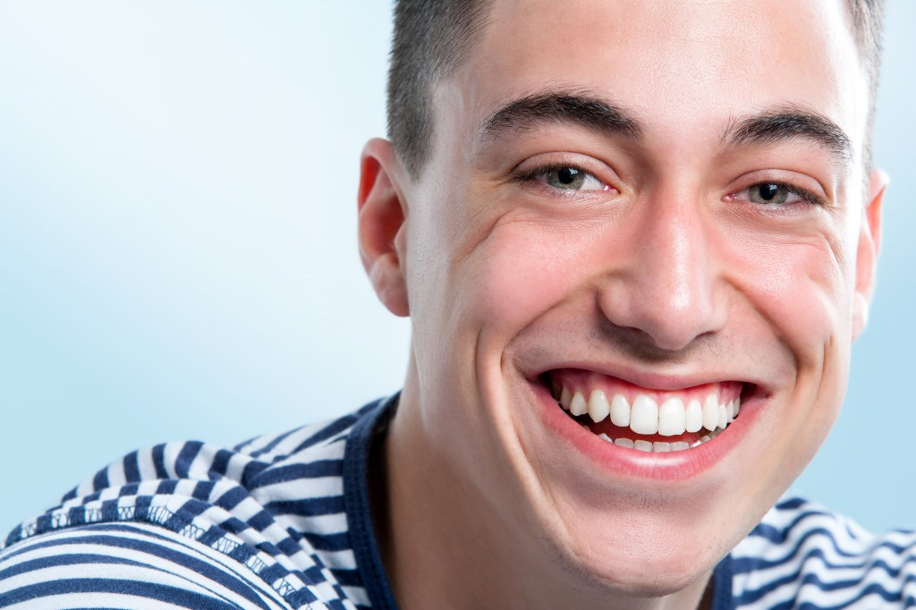 Young Man with Clean & Healthy Smile in Brookline, MA