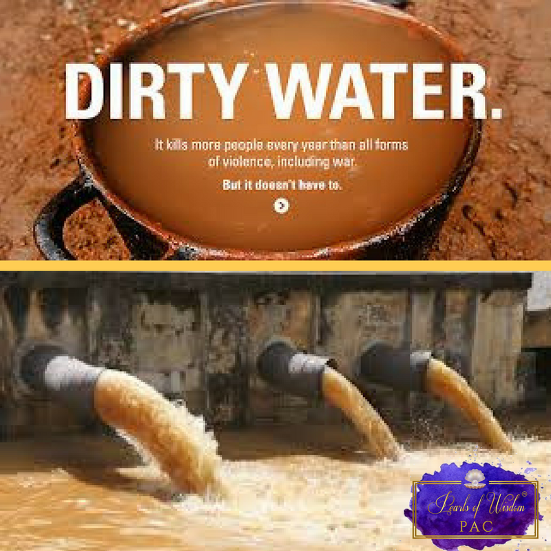 Dirty unsafe Water is an Act of Violence !