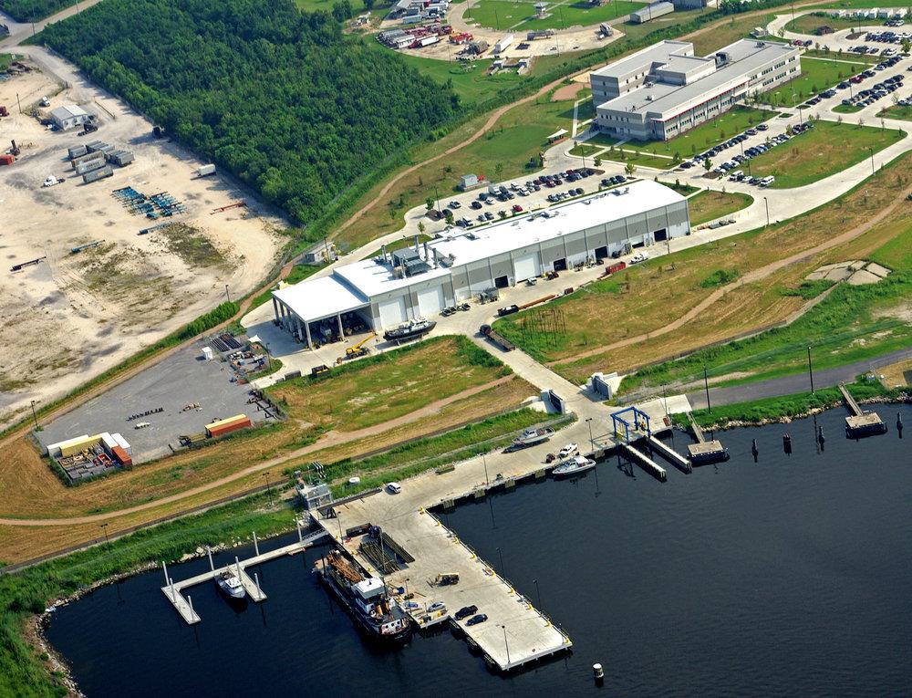 Coast Guard Facility at Michoud